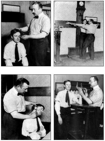 Alphonse Bertillon Anthropometrics Measurements