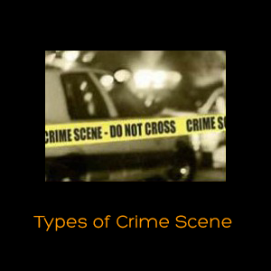 Types of Crime Scene.
