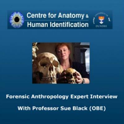 Forensic Anthropology Expert Sue Black