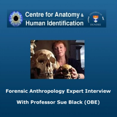 Forensic Anthropology Expert Sue Black