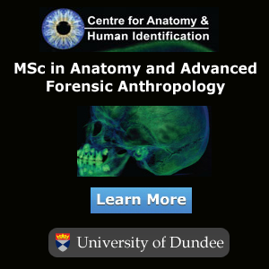 MSc in Anatomy and Advanced Forensic Anthropology