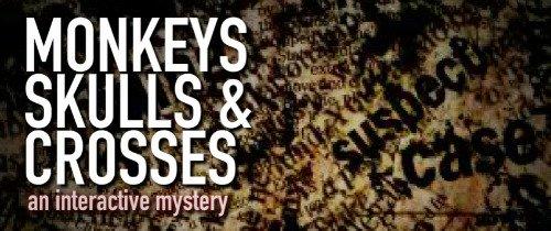 Monkey Skulls & Crosses